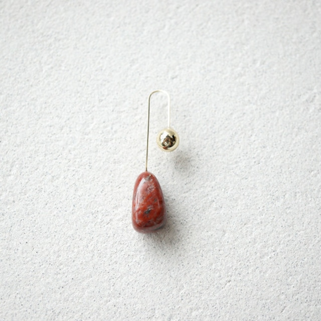 【MUUTS】Stone pierce(RED)