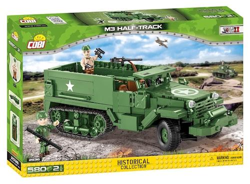 COBI #2536 M3 スカウトカー (M3 Halftrack)
