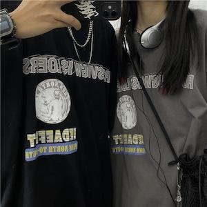 メッセージプリントTシャツ RD9086