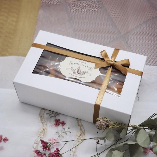 【6/20 ~ 6/22 お届け】ラパンが贈る大人のマドレーヌ ギフト8個入 [6/11~6/14 予約受付]