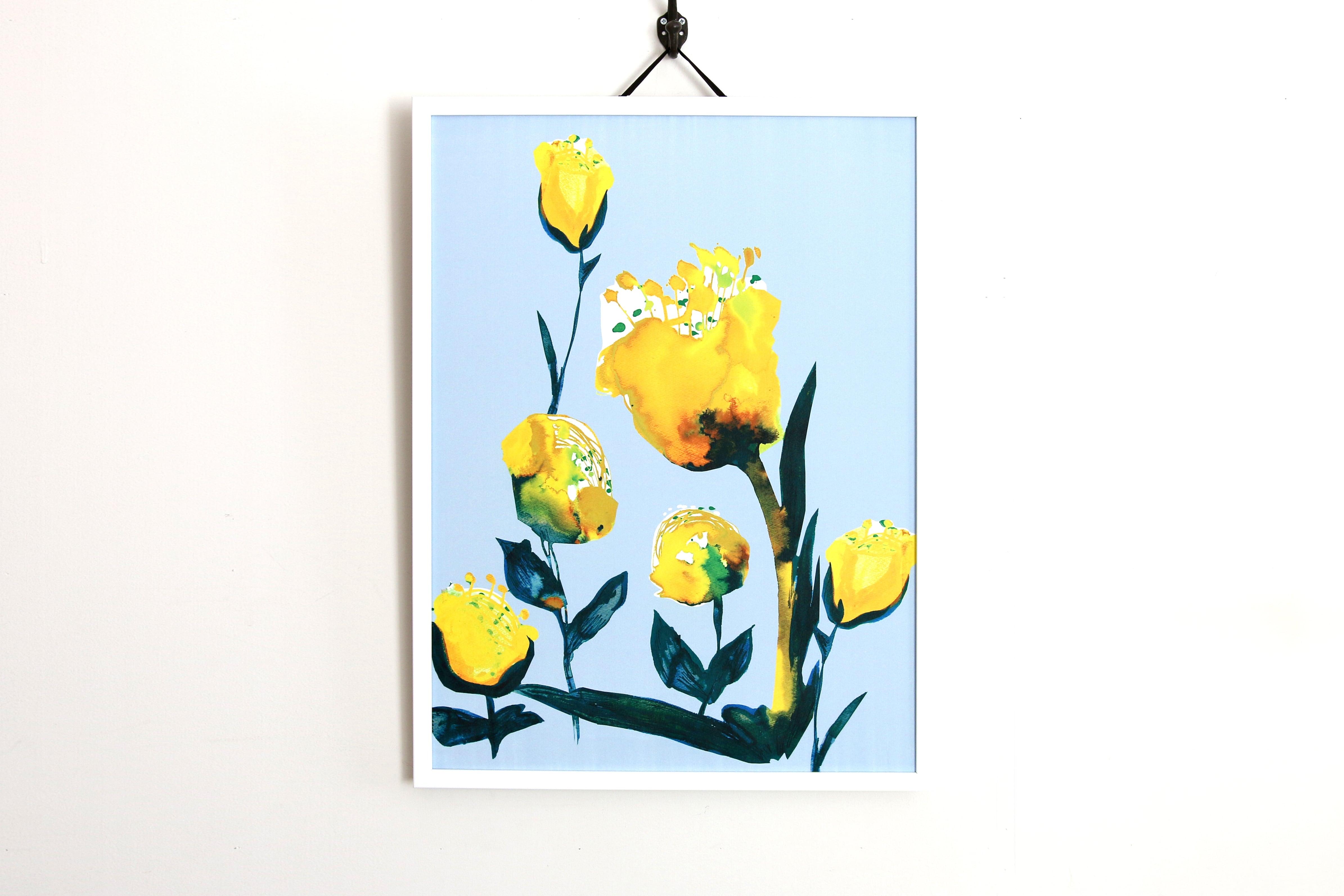 【アートフレーム】希望の花 -Natural-
