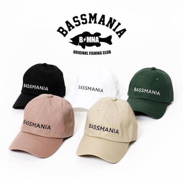 BASSMANIAロゴ刺繍CAP