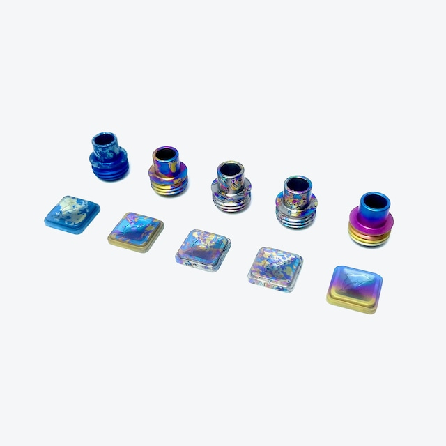 FLIPPER2 LIMITED EDITION TI TIP & BUTTON SET