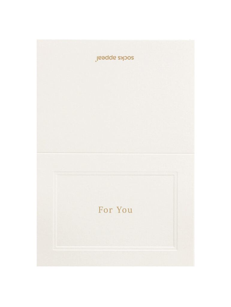 MESSAGE CARD【For You】