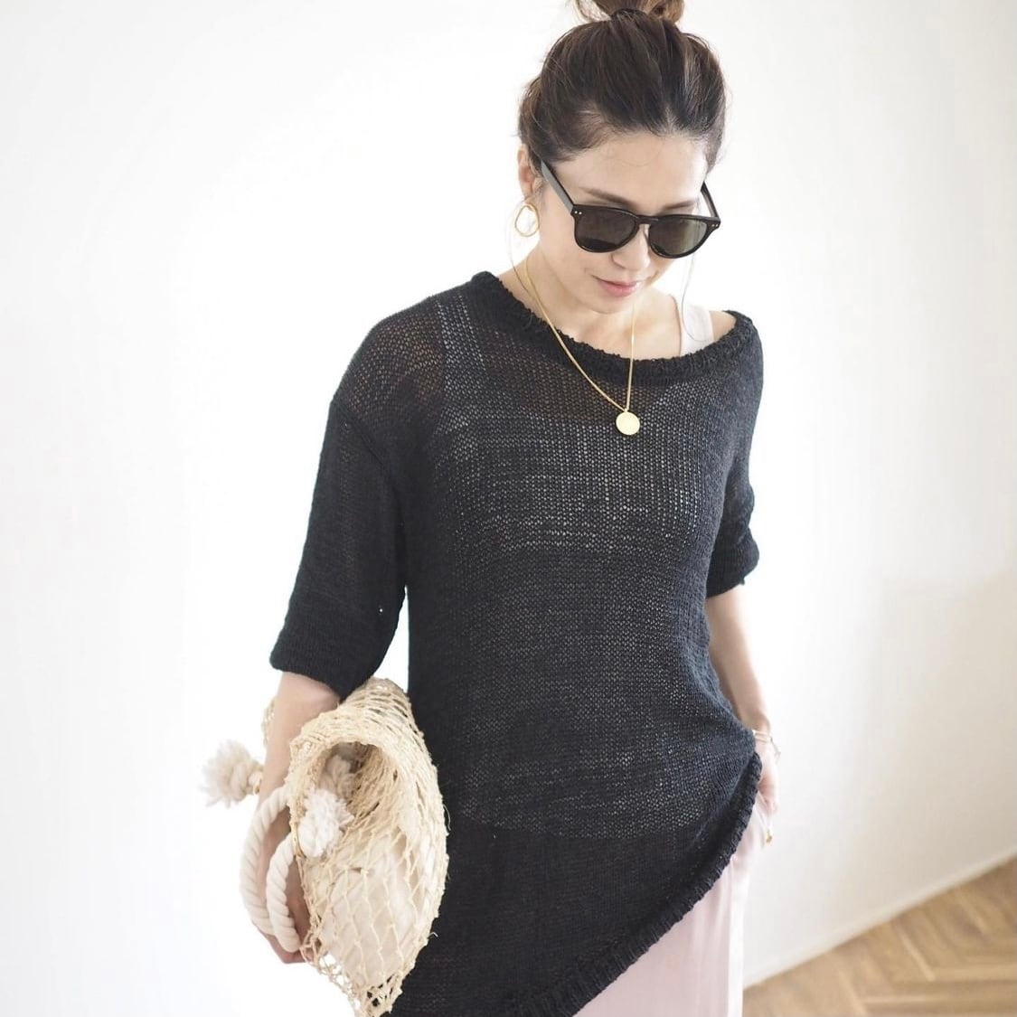 【 ANIECA 】summer knit