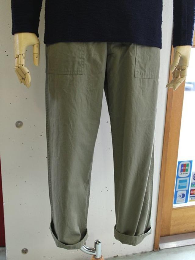 ARAN (アラン) FATIGUE-46LW  短め丈 ファティーグパンツ -OLIVE DRAB-