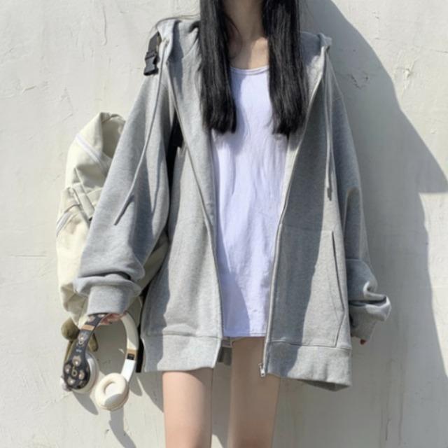 【アウター】品質いいな新品 3色展開 韓国ファッション 無地 シンプル ストリート系 定番 カーディガン52631752