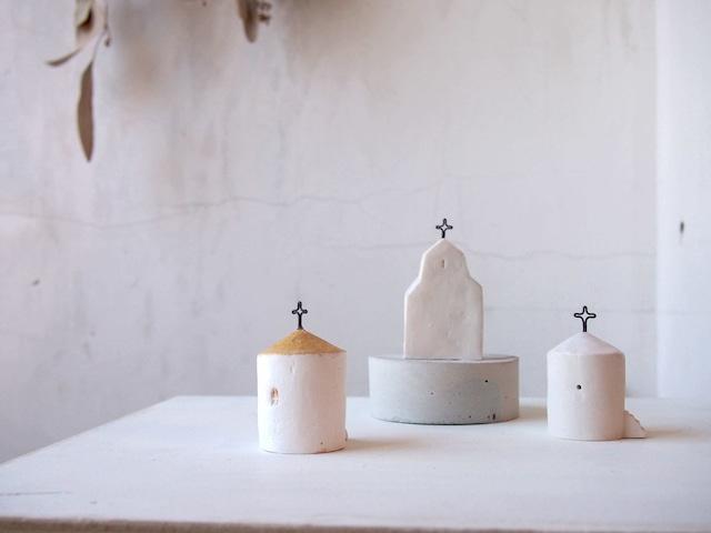 陶磁器製オブジェ: church