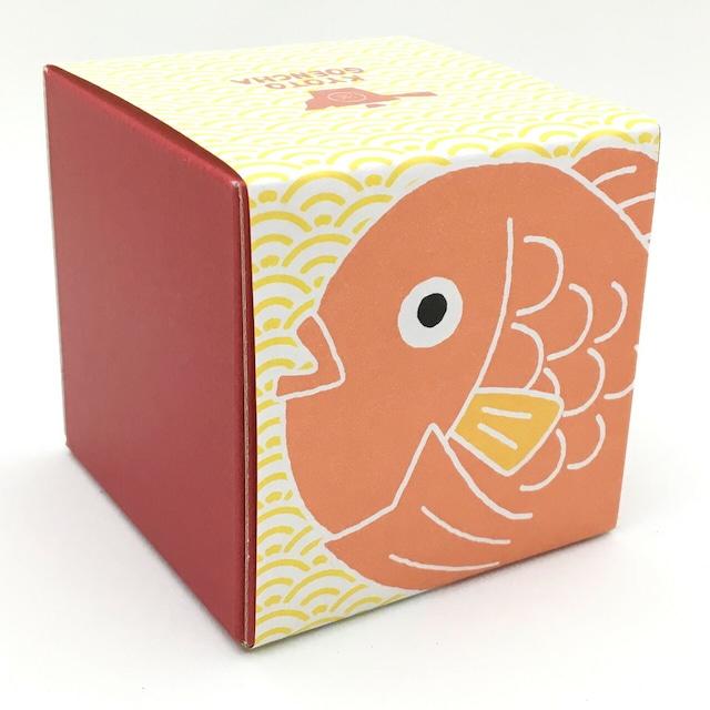 縁起物 箱茶 鯛「福徳円満」
