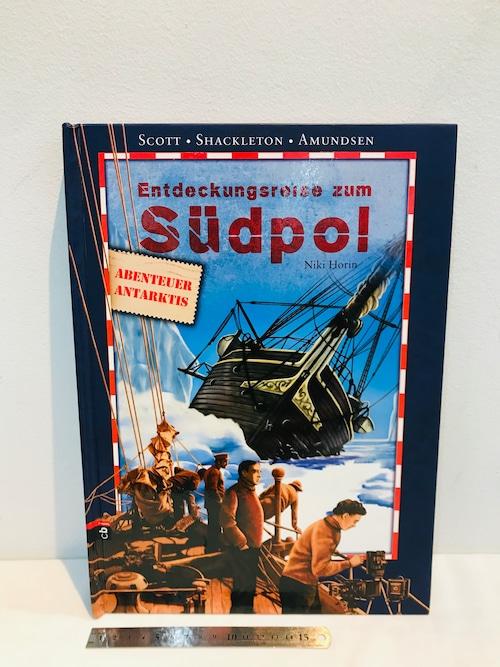 南極探検 SUDPOL  a pop-up book ドイツ語版