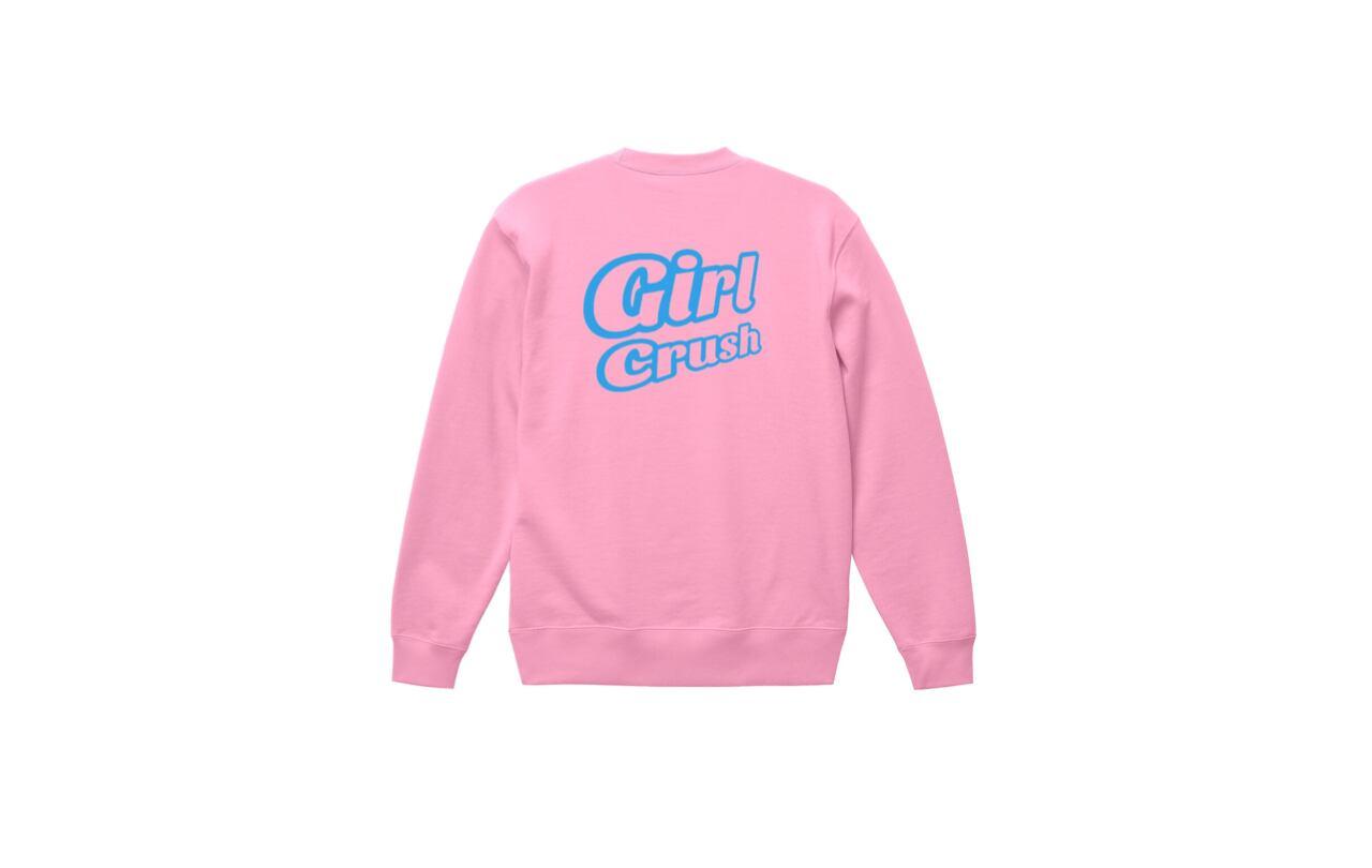 coguchi girl crush sweat (pnk/lbl)