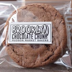 BROOKLYN・チョコレート・チャンククッキー4枚