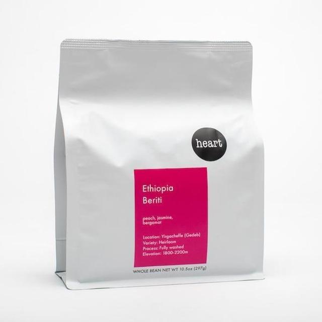 HEART ロースターズ - エチオピア BERITI コーヒー豆 226g