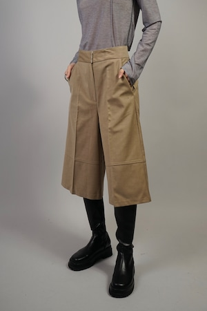 FLARE MIDDLE PANTS (BEIGE) 2109-34-70