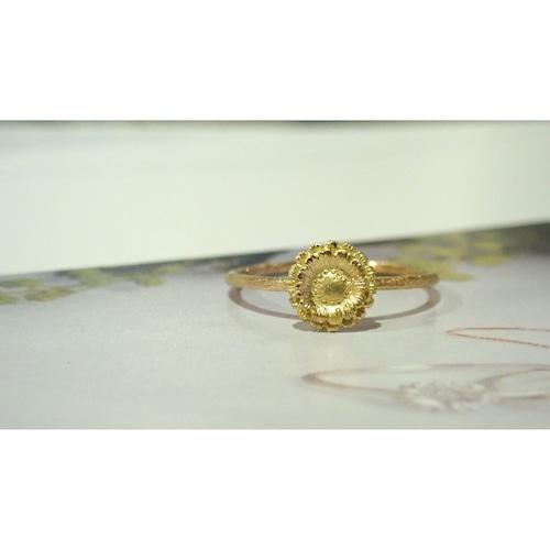 Gerbera K18 Ring