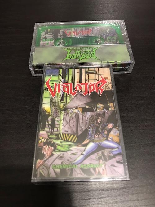 "VIOLATOR ""Chemical Assault"" Cassette"