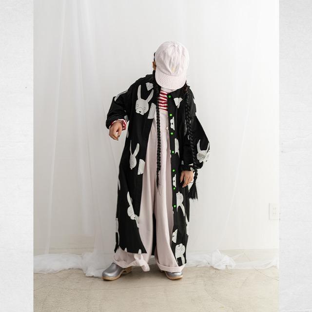 BAG SLEEVES LONG SHIRT / WOMEN