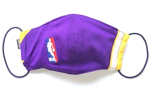 【デザイナーズマスク 吸水速乾COOLMAX使用 日本製】NBA LAKERS SPORTS SPECIAL MASK CTMR 1112013