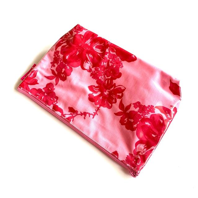 北欧デザイン PVCポーチ | Lサイズ | stella pink