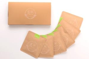 玄米デカフェ 1ドリップ✕6袋セット 体にやさしいノンカフェイン、おうち時間、飲み物 アトリエ玄米デカフェ、MNH