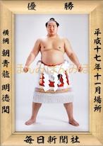 平成17年11月場所優勝 横綱 朝青龍明徳関(15回目の優勝)