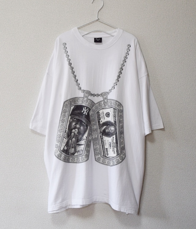 USED HIP HOP T-shirt -The Notorious B.I.G.-