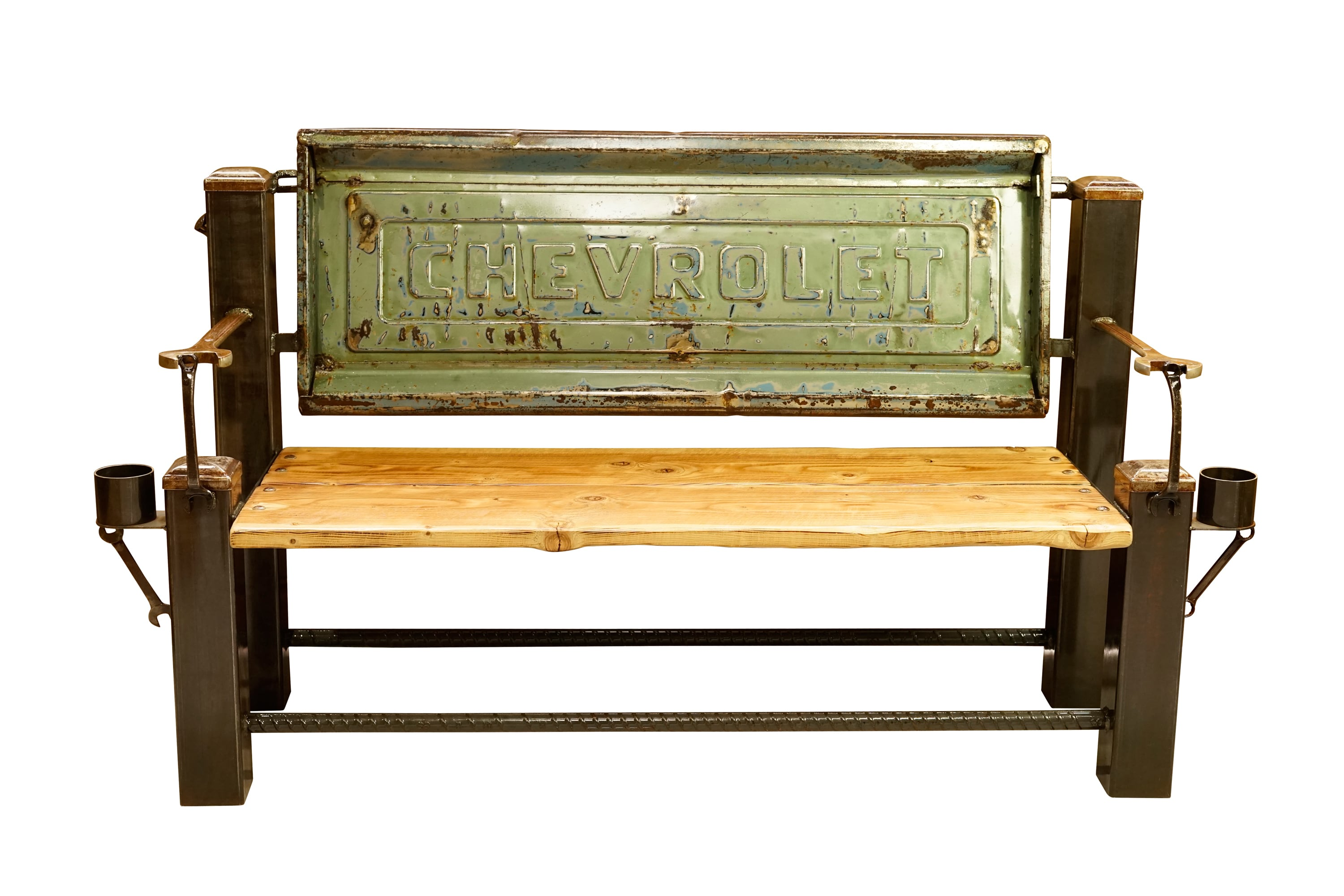 CHEVROLET STEP SIDE BED TAILGATE BENCH 【ASH】