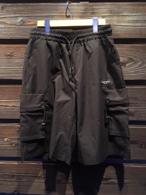 Easy Miss  Cargo Half Shorts  Black  Lサイズ