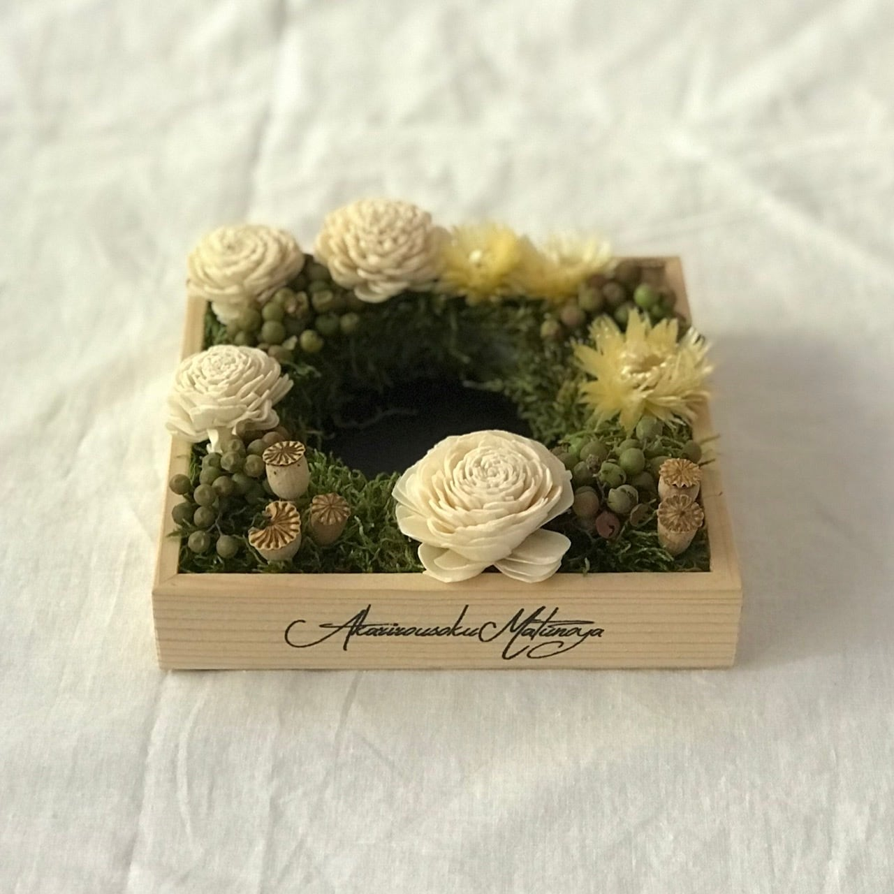 No.212 flower candle stand | gift box 5700