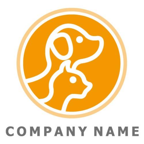 犬猫 ロゴデザイン