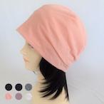 つけ毛付き:wig/レイヤーボブ/薄手ニット帽子(裏シルク)6色フリー M~L