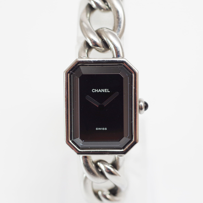 CHANEL シャネル プルミエール SS Mサイズ チェーンベルト シルバー レディース 腕時計