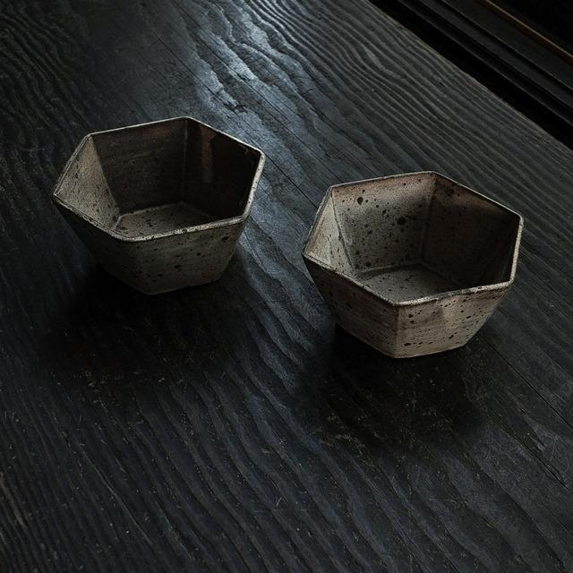 掛分六角鉢 sekiguchi noritaka