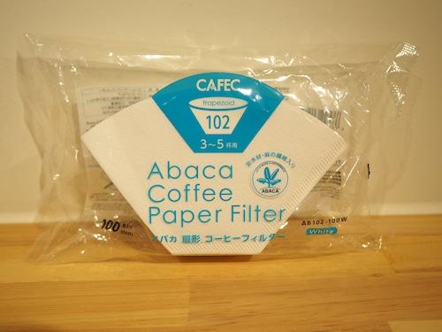 CAFEC アバカ台形 コーヒーフィルター 102