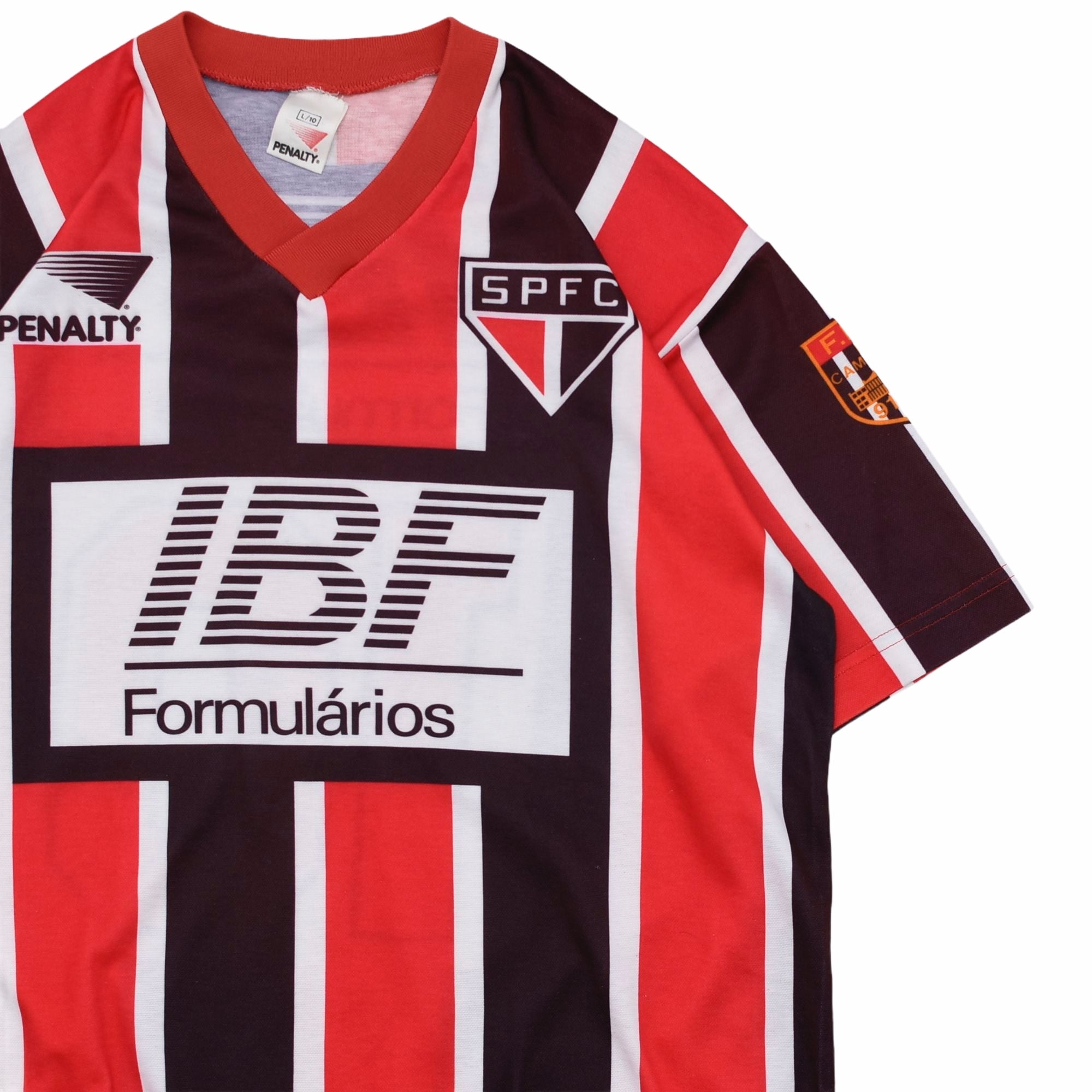 "91-92 PENALTY ""SPFC""Sao Paulo FC jersey"