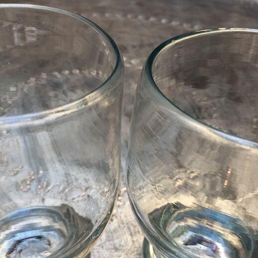 [イラン]レトロピルスナー手吹きガラス