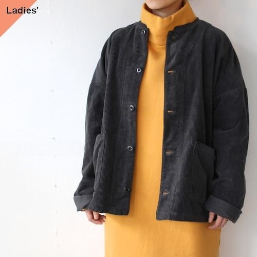 HARVESTY コーデュロイアトリエジャケット Corduroy Atelier Jacket (Black)