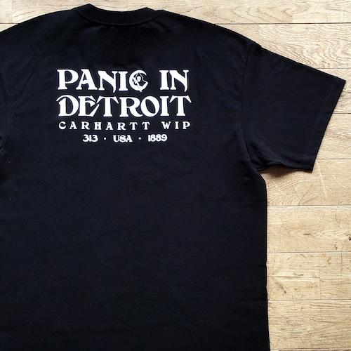 【残りわずか/Carhartt WIP】Panic Tシャツ/ブラック