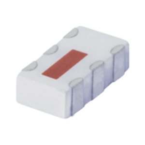 QCN-45+, Mini-Circuits(ミニサーキット)    LTCC Power Splitter (スプリッタ・コンバイナ), 2500 - 4500 MHz, 分配数: 2 Way-90°
