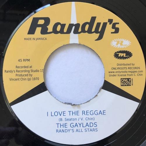 The Gaylads - I Love The Reggae【7-20598】