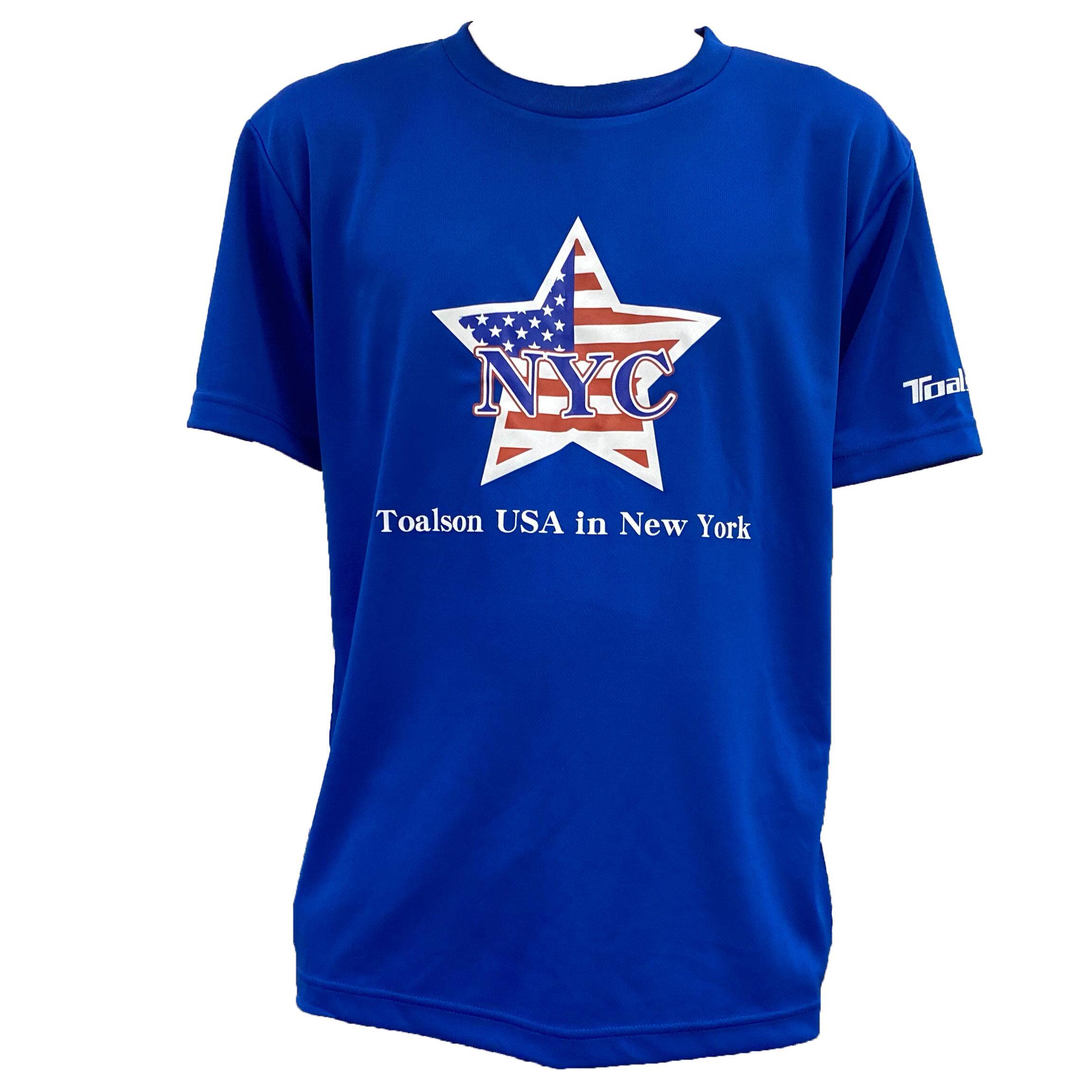 NYCTシャツ(ロイヤルブルー)【1ET1913】