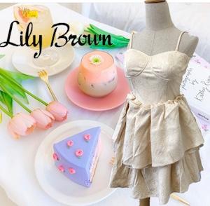 Lily Brown ショート オールインワン