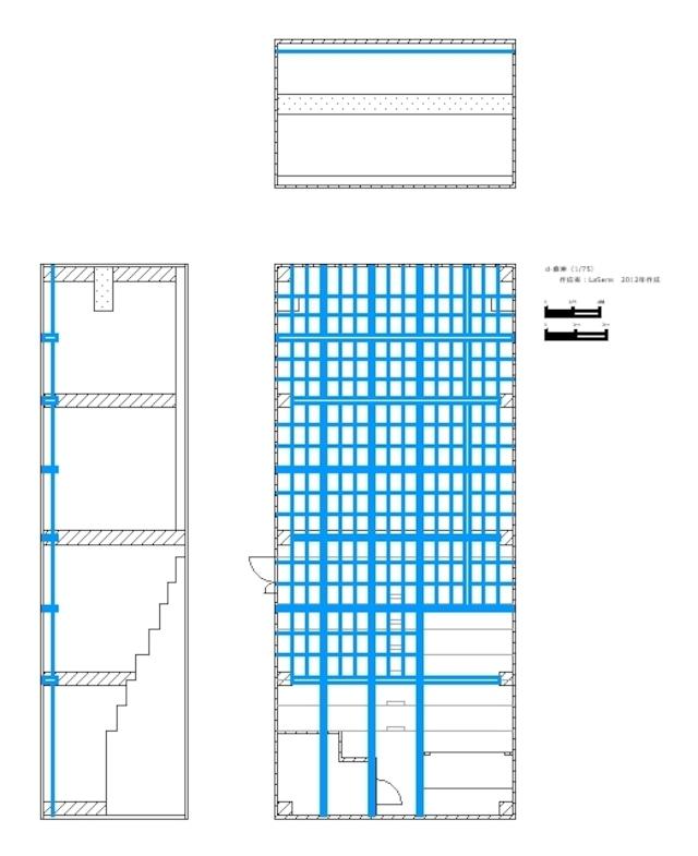 劇場図面 d-倉庫