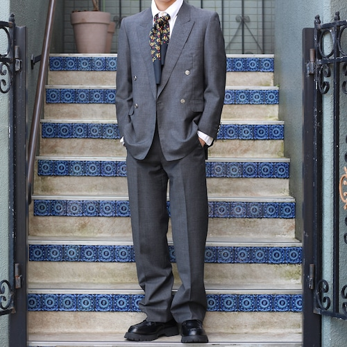 .Christian Dior LOGO BUTTON DOUBLE SET UP SUIT/クリスチャンディオールロゴボタンセットアップスーツ2000000055640