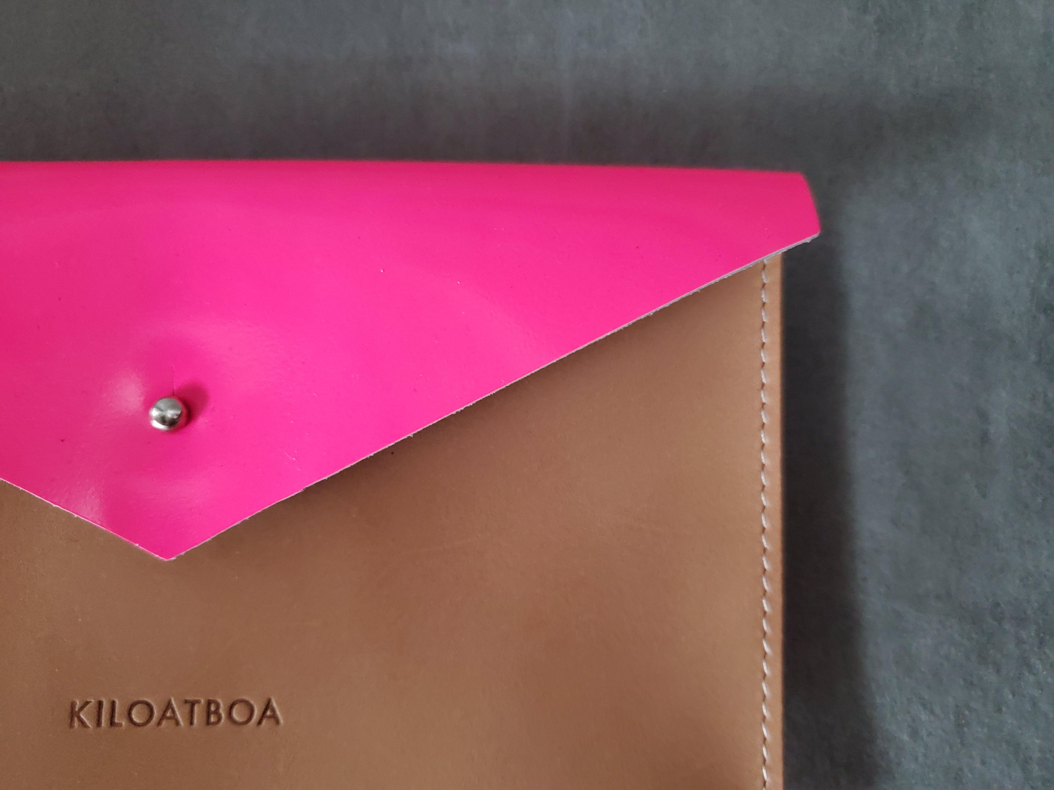 KILOATBOA  レターポーチ ( ピンク )