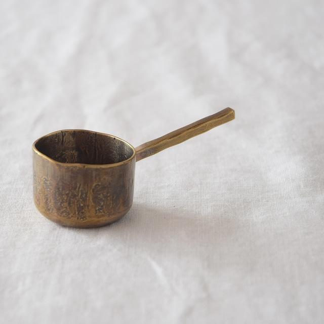永島義教 Yoshinori Nagashima   真鍮コーヒースプーン