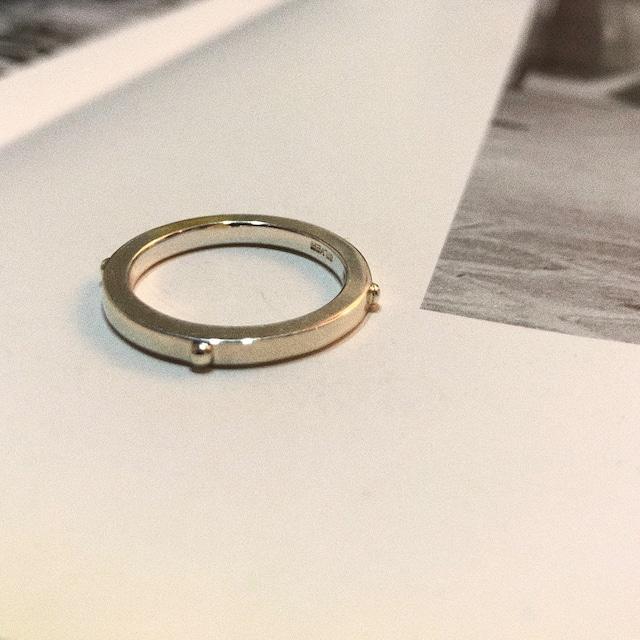 rivet RING SILVER925 #LJ18017R