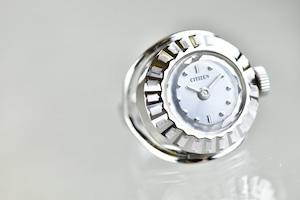 【ビンテージ時計】1971年1月製造 シチズン指輪時計 日本製