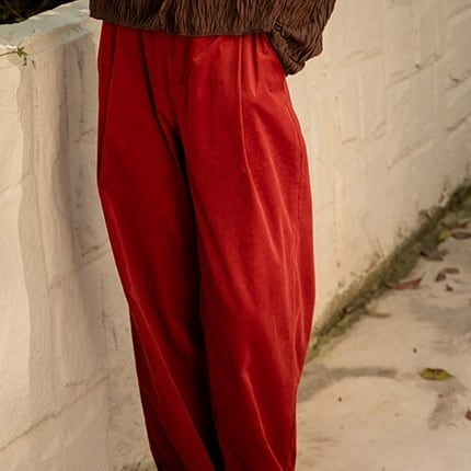 Corduroy straight pants(コーデュロイストレートパンツ)b-463