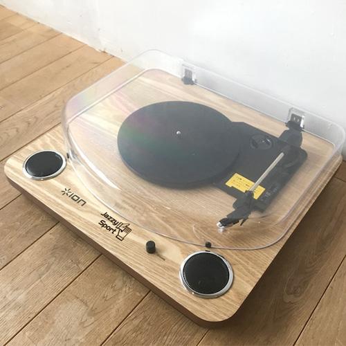 【限定/レコード プレーヤー】Jazzy Sport モデル/ION Audio(アイオン オーディオ)Max LP
